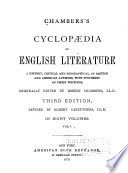 Chamber s Cyclop  dia of English Literature