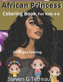 African Princess Coloring Book