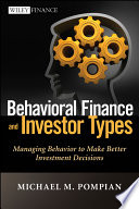 Cover of Behavioral Finance and Investor Types