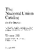 The National Union Catalog  Pre 1956 Imprints
