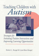 Teaching Children with Autism Book