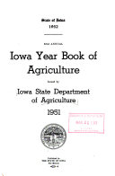 Iowa Year Book Of Agriculture