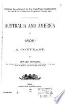 Australia and America in 1892