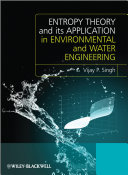 Cover of Entropy Theory and its Application in Environmental and Water Engineering