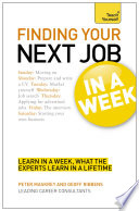 Finding Your Next Job In A Week Teach Yourself Ebook Epub
