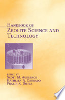Handbook Of Zeolite Science And Technology Book PDF