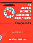 Yearbook of Experts  Authorities   Spokespersons   2011 Editon