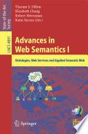 Advances in Web Semantics I