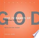 The 72 Names of God Meditation Book