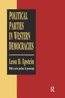 Political Parties in Western Democracies