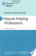 An Introduction to Human Services MyLab Helping Professions Pearson Etext Access Code