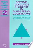 Second Language Students in Mainstream Classrooms