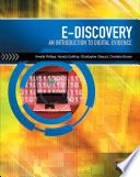 E Discovery  An Introduction to Digital Evidence Book