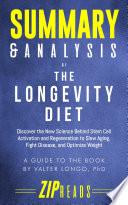 Summary   Analysis of The Longevity Diet