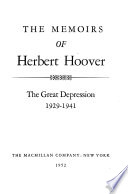 Memoirs: The great depression, 1929-1941