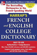 Harrap's Shorter Dictionary