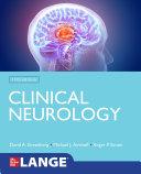 Lange Clinical Neurology  11th Edition