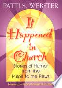 It Happened In Church  Book
