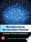 Multiresolution & Multirate Signal Processing