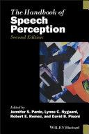 The Handbook of Speech Perception 2E