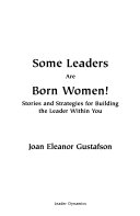 Some Leaders are Born Women