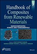 Handbook of Composites from Renewable Materials  Nanocomposites Book