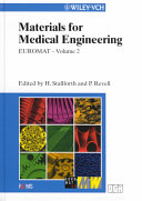 Euromat 99  Materials for Medical Engineering Book