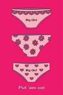 Journal Big Girl Panties Pink
