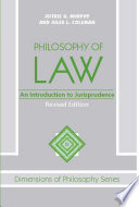 Philosophy Of Law  : An Introduction To Jurisprudence