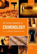The Oxford Handbook of Criminology - Seite 233