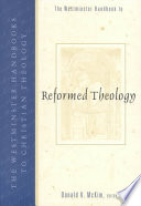 The Westminster Handbook to Reformed Theology Book