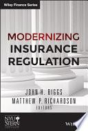 Modernizing Insurance Regulation