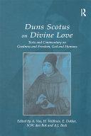 Duns Scotus on Divine Love
