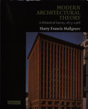 Modern Architectural Theory