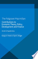 Contributions to Economic Theory  Policy  Development and Finance