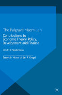 Contributions to Economic Theory, Policy, Development and Finance Book