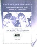 Children s Environmental Health