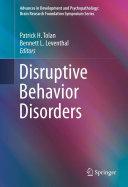 Disruptive Behavior Disorders Pdf/ePub eBook