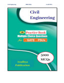 5000 MCQ: Civil Engineering For UPSC GATE/PSUs Exams