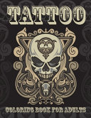 Tattoo Coloring Book For Adults