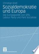 Sozialdemokratie und Europa