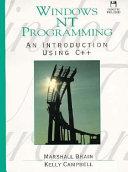 Windows NT Programming