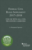 Federal Civil Rules Supplement