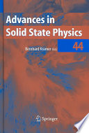 Advances In Solid State Physics Book PDF