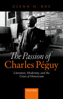 The Passion of Charles Péguy Book