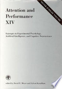 Attention And Performance Xiv Book PDF