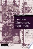London Literature 1300 1380