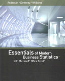 Essentials of Modern Business Statistics With Microsoft Excel   Mindtap Business Statistics  1 term Access Book