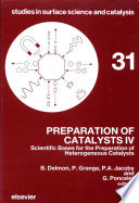 Preparation Of Catalysts Iv Book PDF