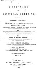A Dictionary of Practical Medicine  with